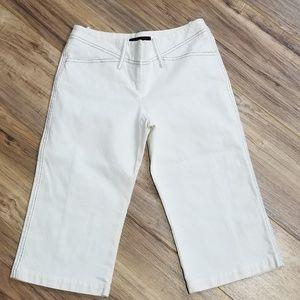 BCBGMaxAzria White Cotton Shorts